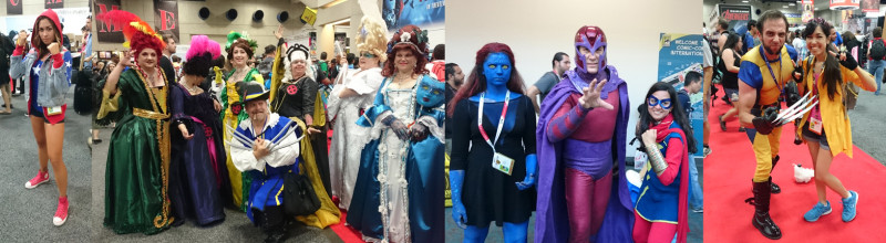 Some of the amazing cosplay!